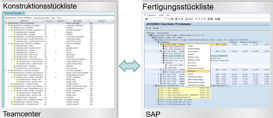 TC - SAP BOM Compare