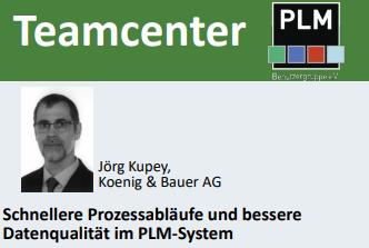 Koenig & Bauer: Schnellere Prozessabläufe und bessere Datenqualität im PLM-System Teamcenter